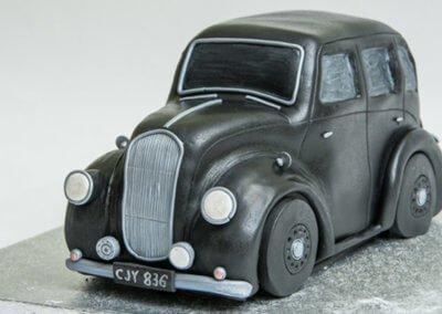 Vintage Austin Car Cake