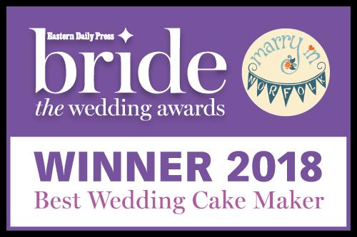 EDP Bride awards 2018 best wedding cake maker Love Wedding Cakes