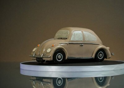 VW Beetele 3D car cake