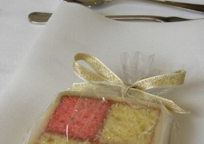battenburg wedding favours