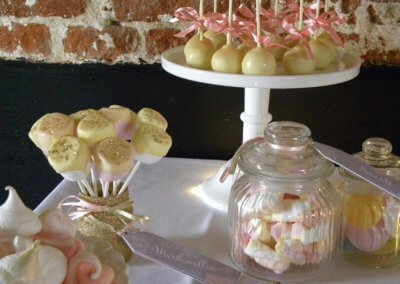 Cake pops and sweetie jars