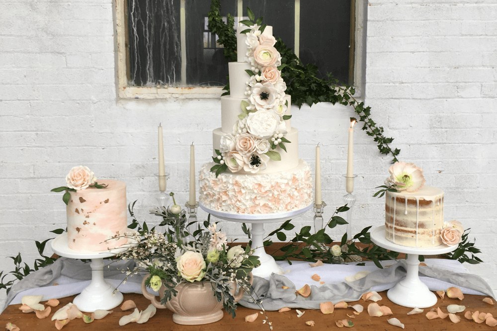 Wedding Cake Table.Wedding Dessert Tables Norfolk Love Wedding Cakes